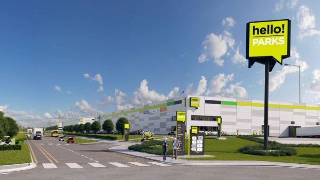 Új logisztikai park az M0-ás mellett